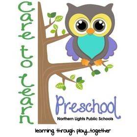 Northern Lights Public Schools Care to Learn Preschool Logo