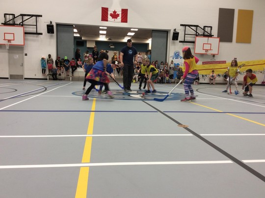 Grade 3 Floor Hockey Tournament