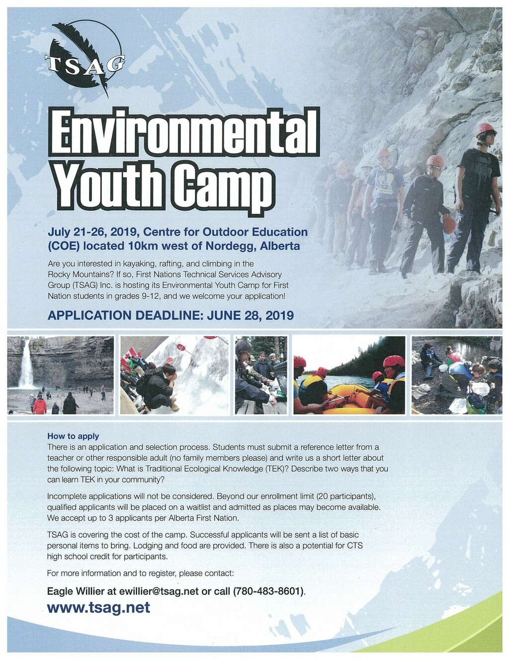 Environmental Youth Camp! | Buck Mountain Central School