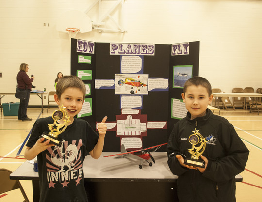 "Alex Dunham (left) and Daylin Sinclair (right) ""How to Fly"" Division 2 Winners 2014"