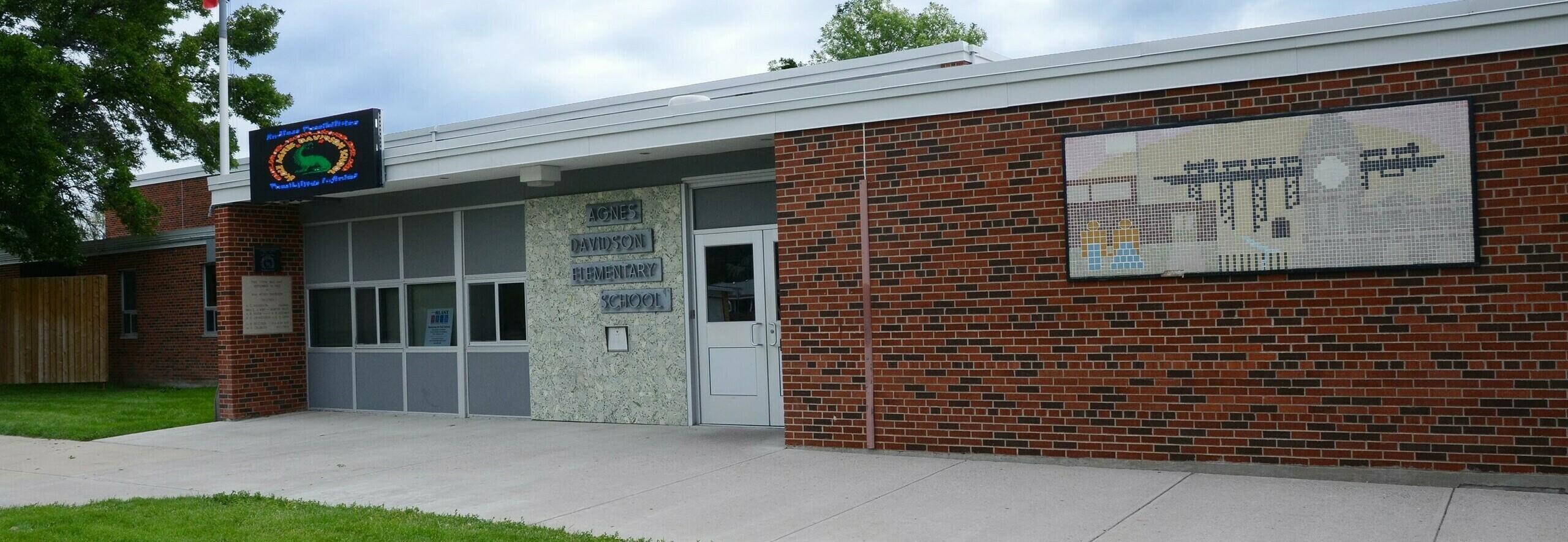 École Agnes Davidson Banner Photo