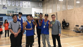 Senior Boys Volleyball capture first place in High Level December 3, 2016!