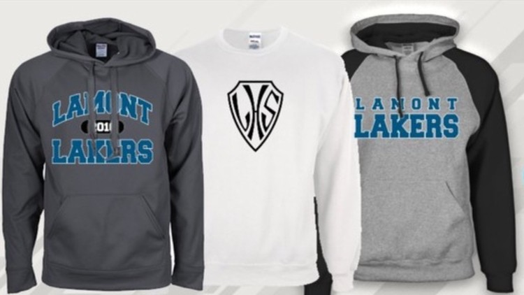 Lakers Online Clothing Store Lamont High