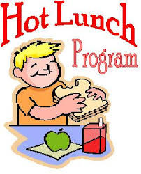 Click on the picture for the hot lunch website