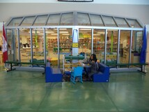 Booths and seats at Learning Commons