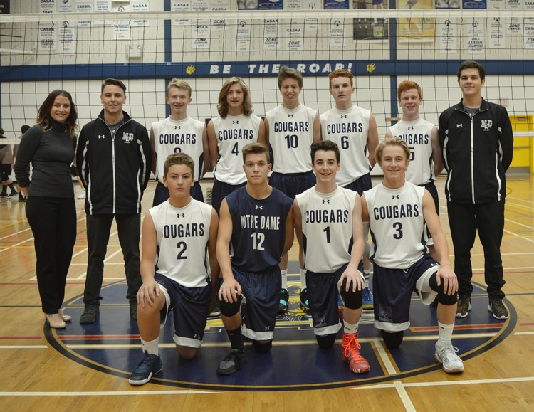 Junior Boys Volleyball Roster
