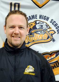 Mr. Erik Lodge, Lead Instructor for the Hockey Academy