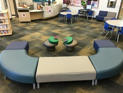Chairs in the Learning Commons