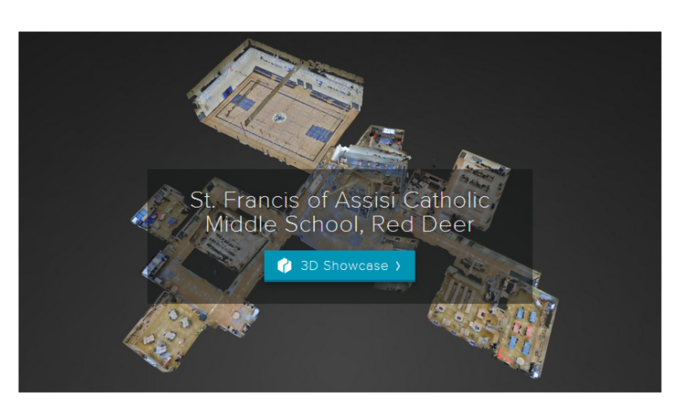 Click on the image to take a 3D virtual tour of St. Francis of Assisi Middle School