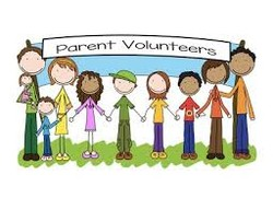 Parent Volunteers cartoon graphic