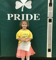 Elementary Success Awards September 2019