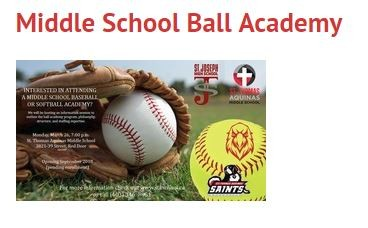 Middle School Ball Academy poster