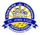 St. John XXIII Catholic School Home Page
