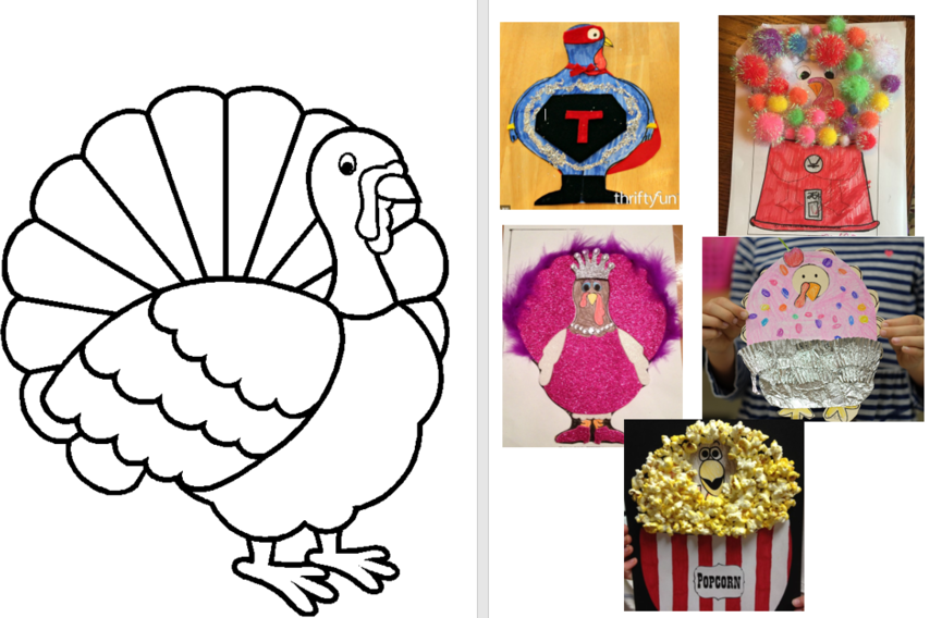 Tricky Turkeys At Home Learning