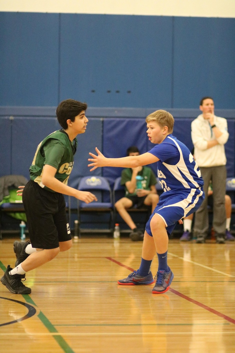grade 8 boys record another win