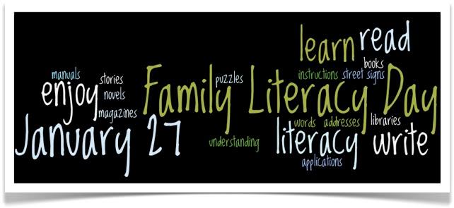 Family Literacy Day January 27th Carmangay Outreach School