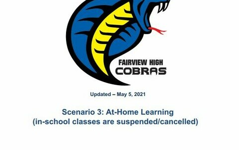 Cobra Logo with FHS Home Learning Plan