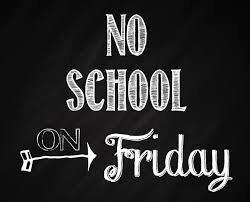 No School: Friday, November 20 | Kate Andrews High School Coaldale,  Alberta, Canada