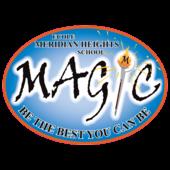 École Meridian Heights School logo