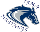 Irma School logo
