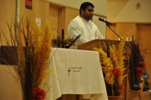 Father Jaya at our Reconciliation Service 2016