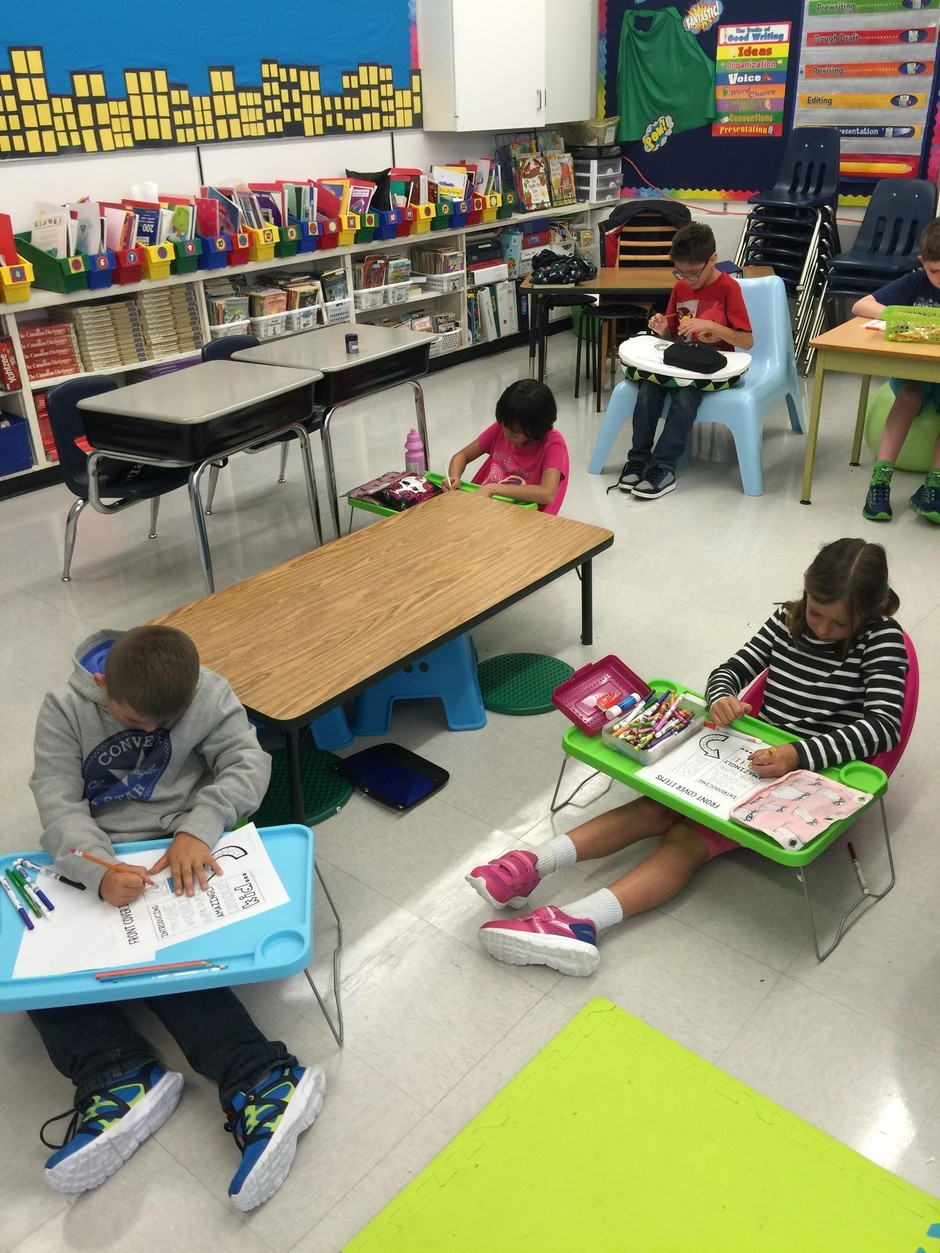 Flexible Seating 201 Cole Notre Dame Elementary School